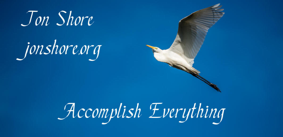 Jon Shore Accomplish Everything Logo ©2017 Jon Shore